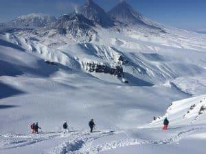 Heliskien in Kamchatka 2