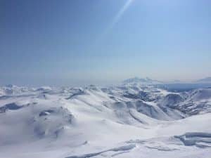 Heliskien in Kamchatka 7